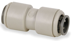 John Guest 1/4 in. Gray Acetal Union Connector - 1/4 in. - 10