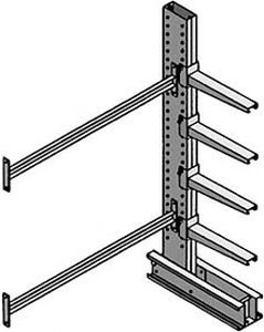 MECO Heavy-Duty Cantilever Add-on Units - 48 - 8