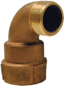 Dixon 2 in. Female NPT x 1 1/2 in. Male NST Continuous Swivel Elbow
