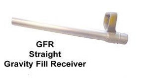 FloMAX 1 in. Straight Spout Diesel Fuel Gravity Fill Tube - Straight Spout - 1 in.
