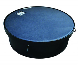 Morrison Bros. 44 in. Encapsulated Lightweight Manhole w/ Lay-In Cover & 10 in. Skirt