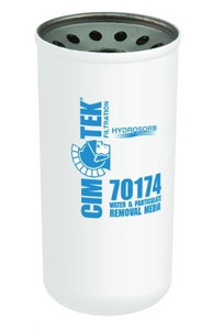 Cim-Tek 40 Series Spin-on Filter - Hydrosorb Water-Removal Media - 70174