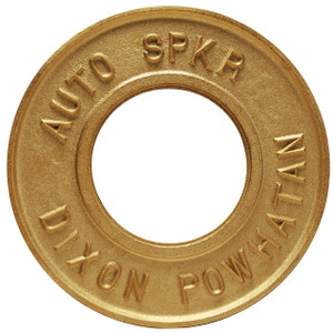 Dixon 2 1/2 in. Pipe Round Identification Auto-Sprinkler Plate