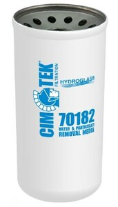 Cim-Tek 40 Series Spin-on Filter - Hydroglass Water-Removal Media - 70182