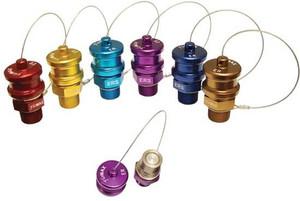 Dixon FloMAX 3/4 in. Series Violet Receiver - Receiver With Cap - Violet