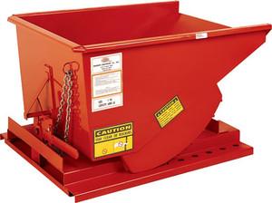 MECO Heavy-Duty Hopper 10 Gauge Steel - 1 Cubic Yard