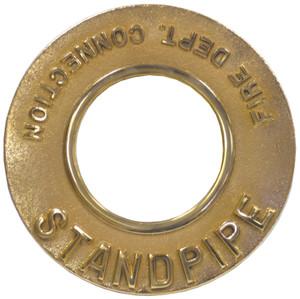 Dixon 6 in. Pipe Round Identification Standpipe Plate