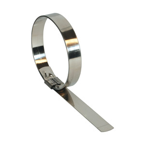 Dixon 8 in. ID Stainless Steel Smooth Center Punch Clamp - 25 Qty