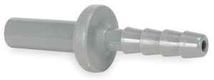 John Guest Gray Inch Acetal Fittings - Tube to Hose Stems - 1/2 in. - 3/8 in. - 10