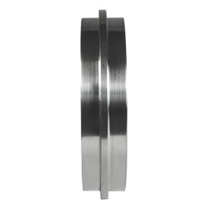 Dixon Sanitary John Perry Solid End Cap - 304 Stainless Steel - 4 in.