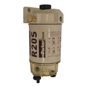 Racor 200 Series 30 GPH Low Flow Diesel Fuel Filter/Water Separator 230 Filter Assembly - 2 Micron - 6 Qty