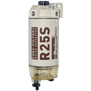 Racor 200 Series 45 GPH Low Flow Diesel Fuel Filter/Water Separator 245 Filter Assembly - 2 Micron - 6 Qty