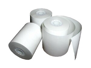 ESCO 4 1/2 in. x 95 ft. 2-Ply Printer Paper Roll Case (fits ESCO 8340 & Star DP8340) - 25 Rolls