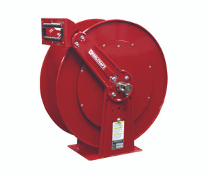 Reelcraft 1 in. x 50 ft. Series 80000 and D80000 Dual Pedestal Air Hose Reel - Reel Only