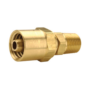 Dixon Reusable Fitting 3/8 in. ID x 3/4 in. OD Hose x 1/4 in. Male NPTF