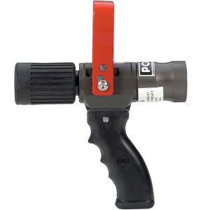 POK 1 in. NH (NST) Wildland Nozzle Hardcoat Anodized Aluminum & PTFE - Red