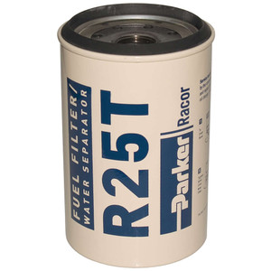 Racor 200 Series Low Flow Diesel Replacement R25T Element - 10 Micron - 12 Qty