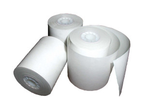 ESCO 4 3/8 in. x 80 ft. Thermal Printer Paper Roll Case (fits Red Jacket ST1400/1800) - 12 Rolls