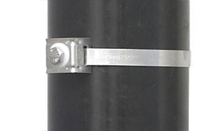 BAND-IT Flared Leg Mini Brack-Its w/ 304SS Bolt & Fiber Washer