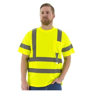 Majestic High Visibility ANSI 3 3X-Large Mesh Short Sleeve T-Shirts
