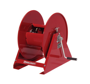 Reelcraft 3/4 in. x 100 ft. Series H Hand Crank Air Hose Reel - Reel Only
