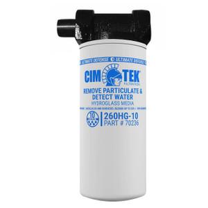 Cim-Tek 1 in. Biodiesel Pump Filter Kit - 10 Micron - 25 GPM