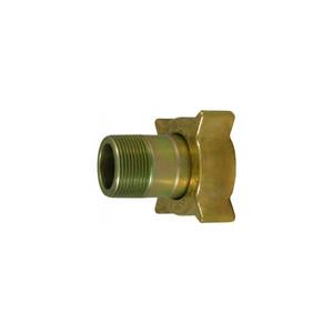 Marshall Excelsior LP Gas 2 1/4 in. Female Acme x 1 1/4 in. MNPT Filler Coupling, Brass/Steel Nut