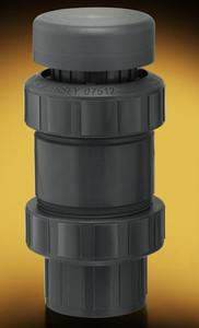 Plast-O-Matic Series VBS 4 in. Self-Closing PVC Vacuum Breakers w/ Viton Seals