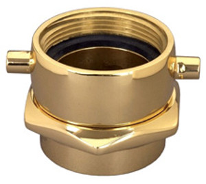 Dixon 1 1/2 in. NPSH x 1 1/2 in. NPT Brass Pin Lug (Open Snoot) Female Swivel Adapters