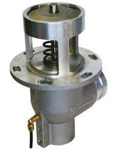 Civacon 3 in. Grooved Elbow Air Operated Emergency Valves w/ Viton Seal