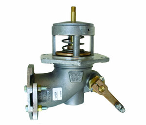 Morrison Bros. 603 Series 4 in. Flanged Manually Operated Emergency Valve w/ Nitrile Rubber Disc