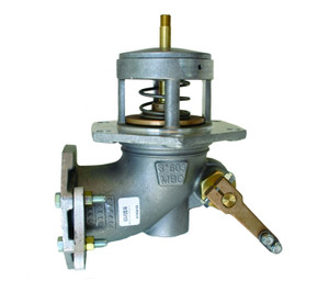 Morrison Bros. 603 Series 3 in. Flanged Manually Operated Emergency Valve w/ Viton Disc
