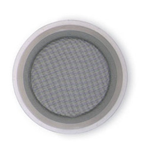 Rubber Fab 4 in. Screen Gasket Platinum Silicone - 60 Mesh