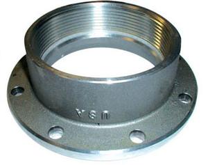 Betts 4 in. TTMA Flange x 4 in. Female NPT - Stainless Steel