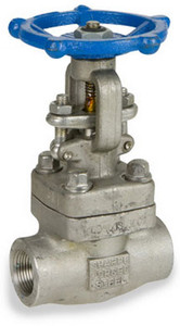 Sharpe Stainless Steel Class 800 Reduced Port 1 1/2 in. Threaded Gate Valve