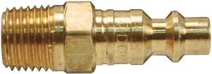 Dixon Air Chief Industrial Brass Male Threaded Plug 1/8 in. Male NPT x 1/4 in. Body
