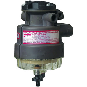 Racor P Series 30 GPH Diesel Integrated Fuel Filter/Water Separator P3 Filter Assembly - 30 Micron