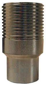 Dixon WS-Series 1 1/4 in. High Pressure Wingstyle Interchange Nipple