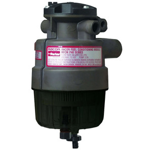 Racor P Series 40 GPH Diesel Integrated Fuel Filter/Water Separator P4 Filter Assembly - 2 Micron