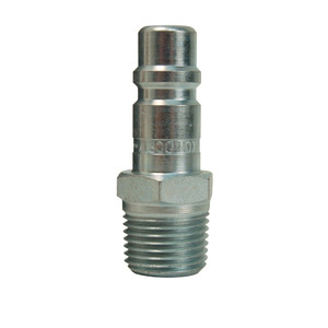 Dixon Air Chief Industrial Steel Male Threaded Plug 3/8 in. Male NPT x 3/8 in. Body