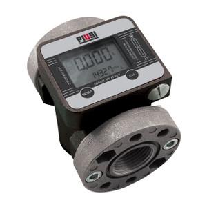 PIUSI K600/3 Series 1 in. NPT Digital Flow Meter - Oils (Gallons and Liters)
