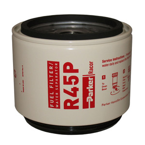 Racor Spin-On Replacement R45P Element for Models 445R & 645R - 30 Micron - 12 Qty