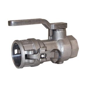 Dixon Aluminum Dry Disconnect 1 1/2 in. Coupler x 1 1/2 in. Female NPT - EPDM Seal