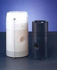 Plast-O-Matic Series PRA 1 1/2 in. PVC Air Loaded Pressure Regulators w/ Viton Seals