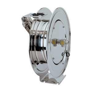 Coxreels MP Series Stainless Steel Hose Reel - Reel Only - 1/2 in. x  50 ft.