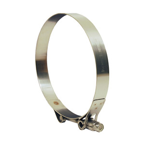 Dixon Heavy Duty Stainless Steel T-Bolt Clamp from 10.646 in. to 10.942 in. Hose OD