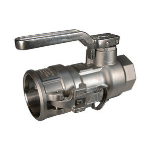Dixon Stainless Steel Dry Disconnect 2 1/2 in. Coupler x 2 in. Female NPT - EPDM Seal
