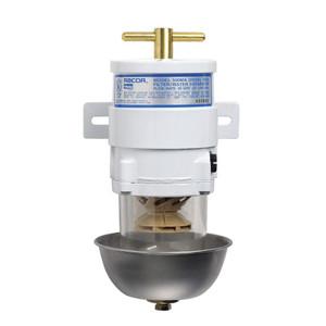 Racor 500MA Marine Turbine Series 60 GPH Fuel Filters w/ Full Metal Bowl - 2 Micron - 6 Qty