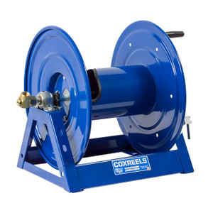 """Coxreels 1125-6-100 """"A"""" Frame Hand Crank Hose Reel - Reel Only - 1 in. x 100 ft."""