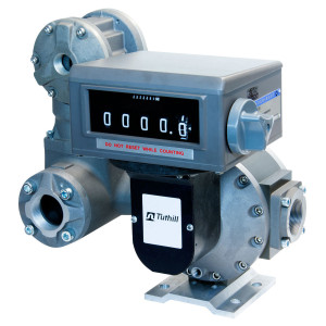 Fill-Rite TS 2 in. NPT Oval Gear Meter w/ Mechanical Register (Liters), Strainer, and Air Eliminator